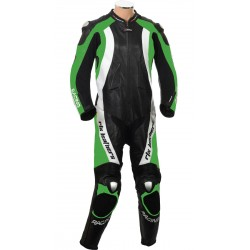 RTX Aero Evo Green Racing 1Pc Leathers