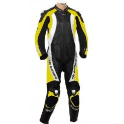 RTX Aero Evo Yellow Racing 1Piece Leathers
