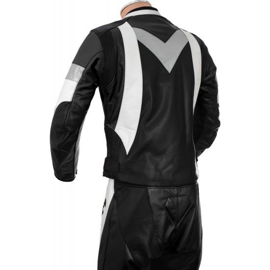 RTX Violator GSXR Black Biker Leathers