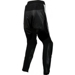 RTX Black Violator Leather Motorcycle Trouser