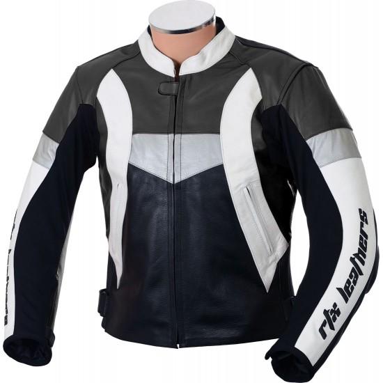 RTX Violator GSXR Black Leather Biker Jacket