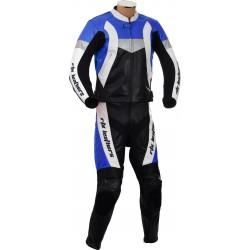 RTX Violator GSXR Blue Biker Leather