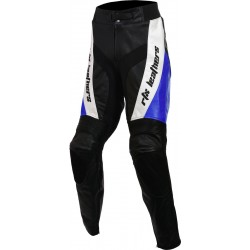 RTX Blue Violator Leather Motorcycle Trouser