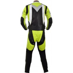 RTX Violator GSXR Fluorescent Yellow Biker Leathers