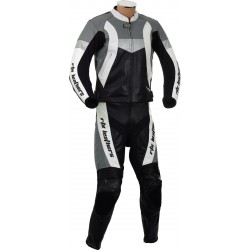 RTX Violator GSXR Grey Biker Leathers