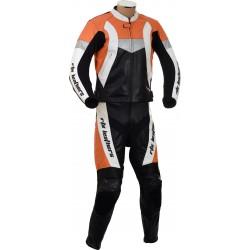 RTX Violator GSXR Orange Biker Leathers