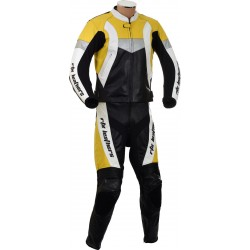 RTX Violator GSXR Yellow Biker Leathers
