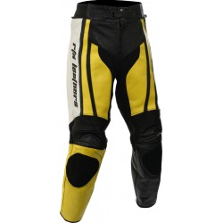 Raptor Yellow Motorcycle Leather 2Pc Suit
