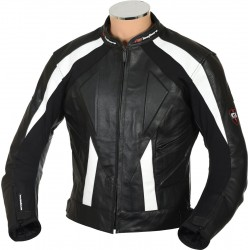 RTX Sports Cruiser Black Leather Jacket