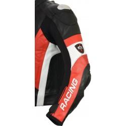 RSV Red Sports Biker Leather Jacket