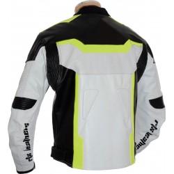 RTX Florescent Green Arbiter Sports CE Biker Jacket