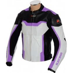 RTX Purple Arbiter Sports CE Biker Jacket