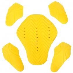 Motorbike Jacket Internal Armour 5 Piece Set Impact Protectors CE Level 1