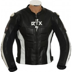Blade Runner Pro RTX Biker Motorcycle Leather Jacket