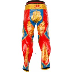 David Bowie Ziggy Stardust Starman Custom Made Leather Costume Trouser Jeans