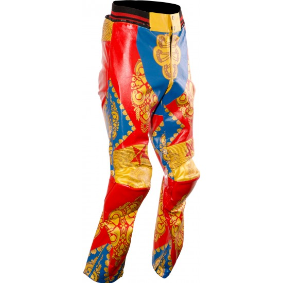 David Bowie Ziggy Stardust Starman Custom Made Leather Costume Trouser Jeans