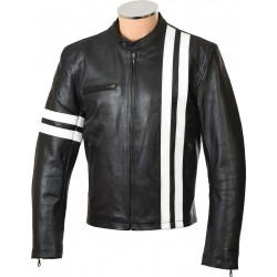 Driver San Francisco Leather Biker Jacket