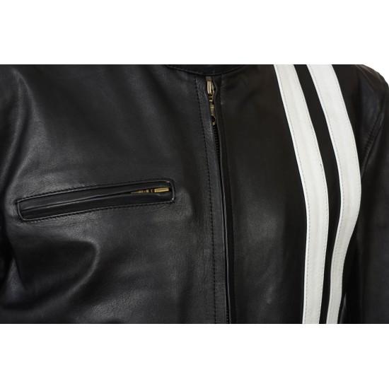 Driver San Francisco Leather Biker Jacket