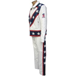 Evel Knievel Legendary Two Piece Leather Suit