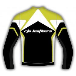 RTX Alpine Leather Biker Jacket - Multiple Colour Options