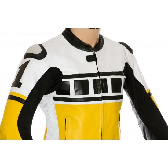 Kenny Roberts Leguna Seca Yellow 2Pc Suit
