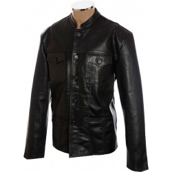 SALE - Paul Weller Modfather Leather Club Jacket