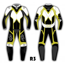 RTX Rebel One Piece Biker Leathers - 8 Colours
