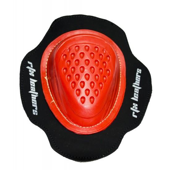Red Knee Sliders - Hard Plastic Mould