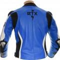 RTX Akira Blue Leather Jacket