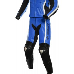 RTX Akira Blue CE Leather 2 Piece Biker Suit