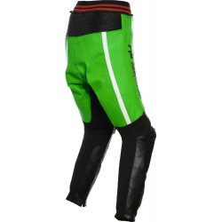 RTX Akira Green Leather Trouser Pant