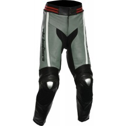 RTX Akira Grey Leather Trouser Pant