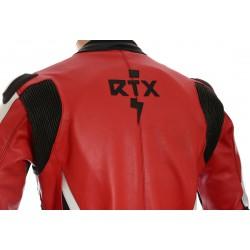 RTX Akira Red Leather Motorcycle Jacket