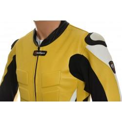 RTX Akira Yellow Leather Motorcycle Jacket