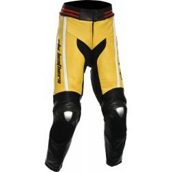 RTX Akira Yellow Leather Trouser Pant