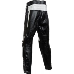 RTX Speedblock Black Leather Trouser