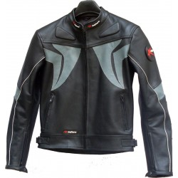 RTX Blade Trinity Leather Biker Jacket
