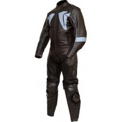 RTX Blade Trinity Black Leather Biker Suit