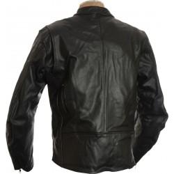 RTX Classic Black Biker Jacket
