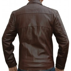 Club Spirit Casual Leather Jacket
