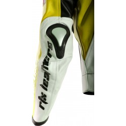 RTX Aero Evo Yellow Biker Jacket