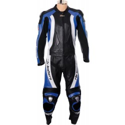 RTX Aero Evo Blue Racing Leathers