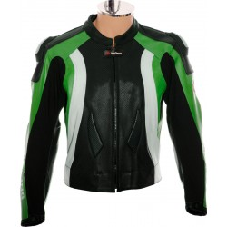 RTX Aero Evo Green Biker Jacket