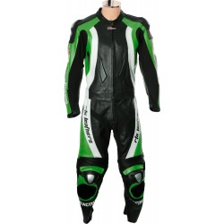 RTX Aero Evo Green Racing Leathers