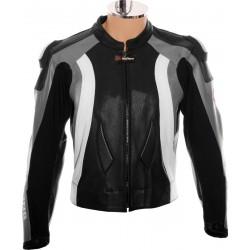 RTX Aero Evo Grey Biker Jacket