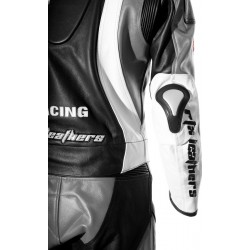 RTX Aero Evo Grey Racing Leathers