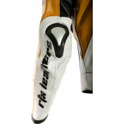 RTX Aero Evo Orange Biker Jacket