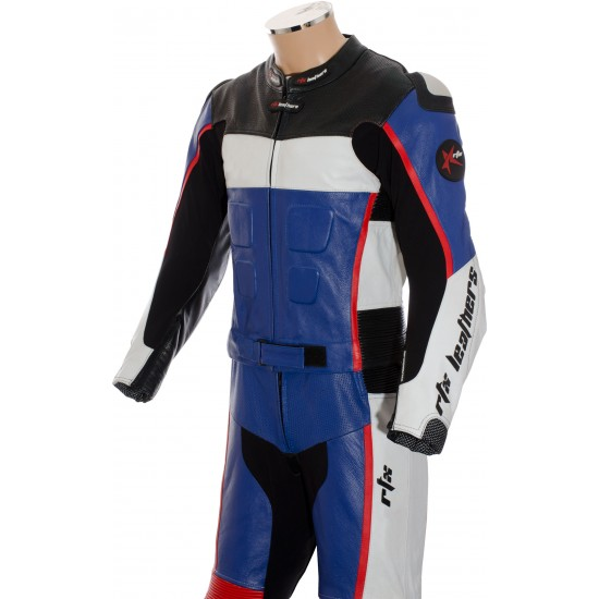 GP Tech Racing Motorcycle Sports Biker Leather Suit