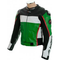 RTX GP Tech Green Biker Jacket