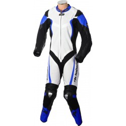RTX Katana Blue Kangaroo 1 Piece Race Leathers